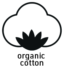Organic cotton flower