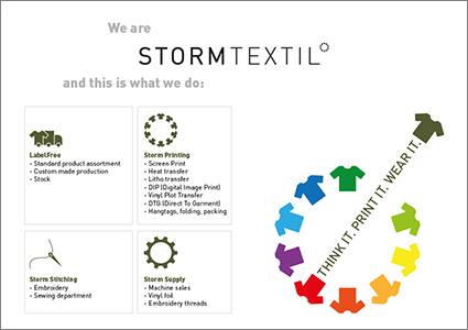 Storm Textil - This is what we do